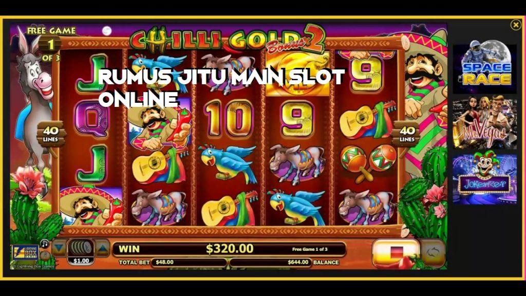 Rumus Jitu Main Slot Online